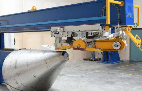 Ronzani Engineering - laminatrici smerigliatrici saldature coni e virole - Levico Terme (TN)
