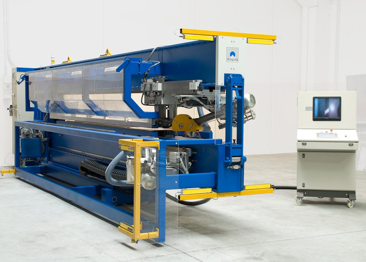 Meccanica Ronzani - smerigliatrici saldature lineari - Levico Terme (TN)