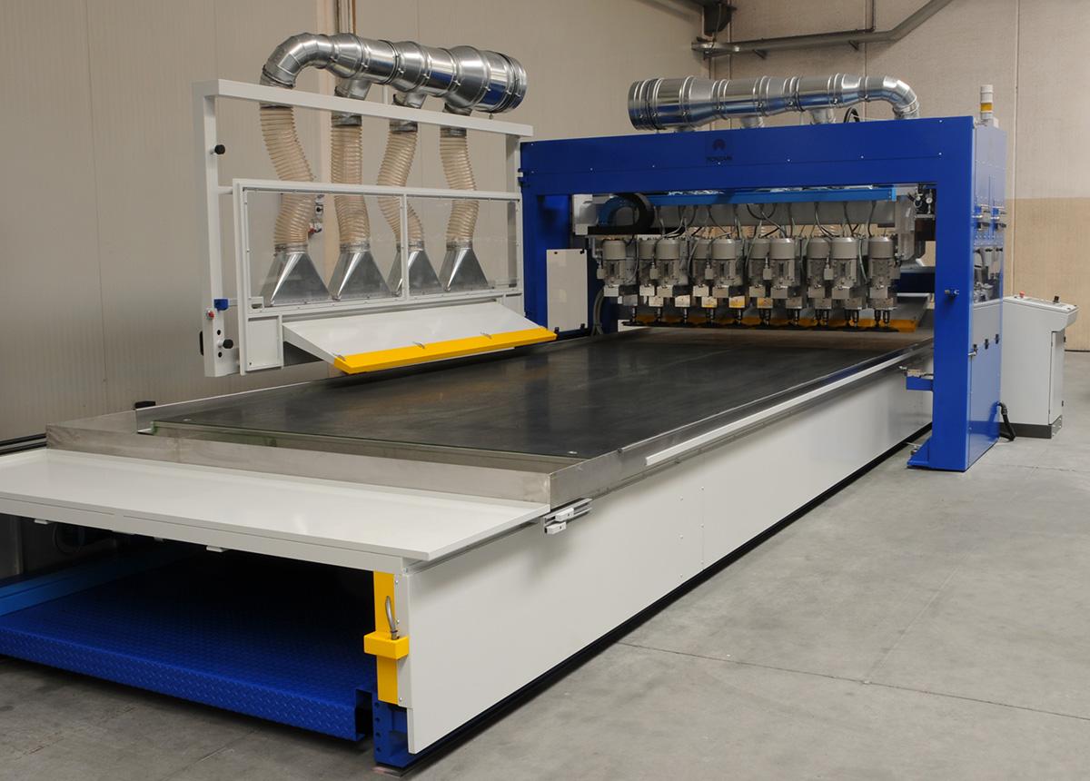 Meccanica Ronzani - lucidatrici levigatrici super mirror - Levico Terme (TN)