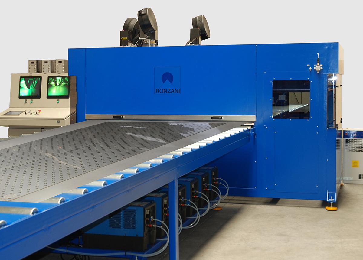 Meccanica Ronzani - puntatrici intercapedine - Levico Terme (TN)