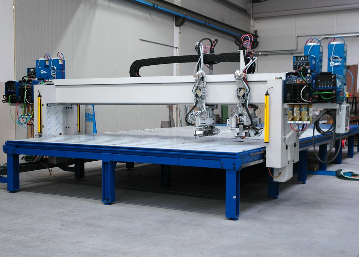 Ronzani Engineering - puntatrici intercapedine - Levico Terme (TN)
