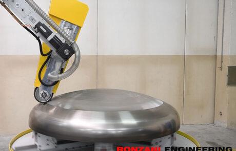 Meccanica Ronzani - smerigliatrici fondi e serbatoi - Levico Terme (TN)